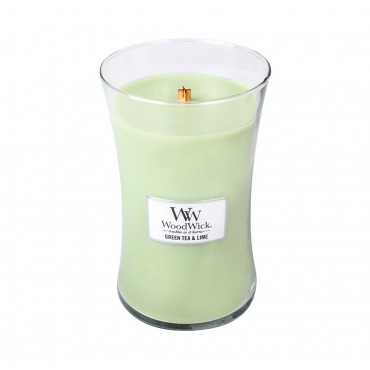 Duża Świeca - Green Tea & Lime