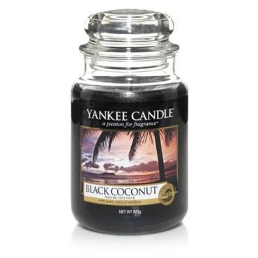 Duża świeca Black Coconut Yankee Candle