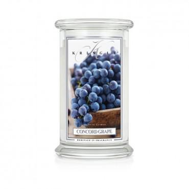 Duża świeca Concord Grape Kringle Candle