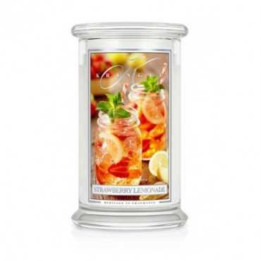 Duża świeca Strawberry Lemonade Kringle Candle