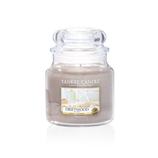 Średnia świeca Driftwood Yankee Candle
