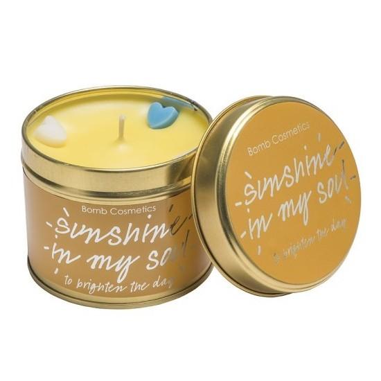 Świeca zapachowa w puszce SŁONECZNA RADOŚĆ – Bomb Cosmetics