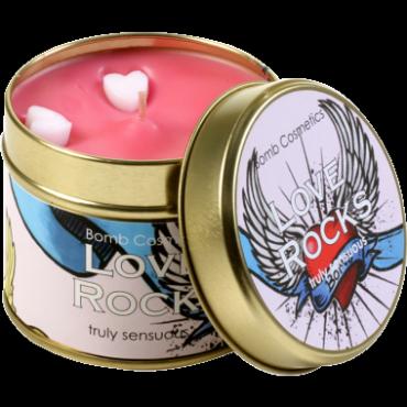 Świeca zapachowa w puszce MIŁOŚĆ RZĄDZI – Bomb Cosmetics