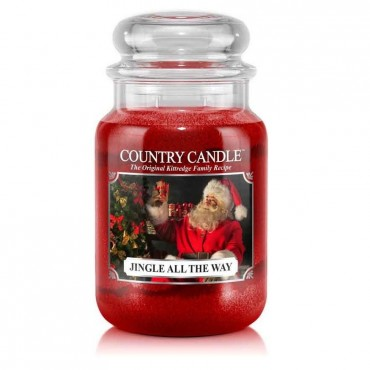 Duża świeca Jingle All The Way Country Candle