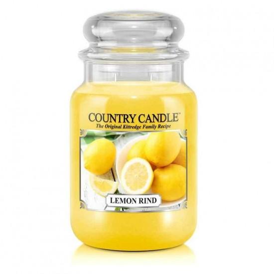 Duża świeca Lemon Rind Country Candle