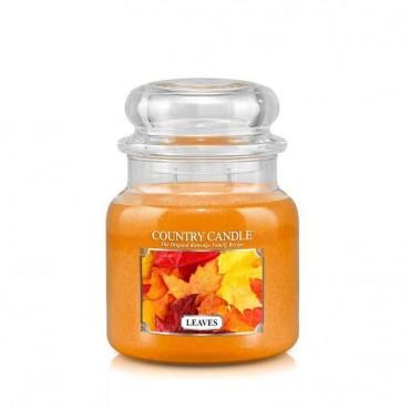 Średnia świeca Leaves Country Candle