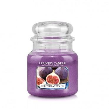 Średnia świeca Mediterranean Fig Country Candle
