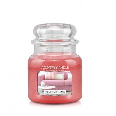 Średnia świeca Welcome home Country Candle