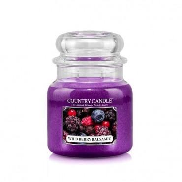 Średnia świeca Wild Berry Balsamic Country Candle