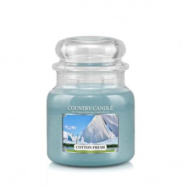 Średnia świeca Cotton Fresh Country Candle