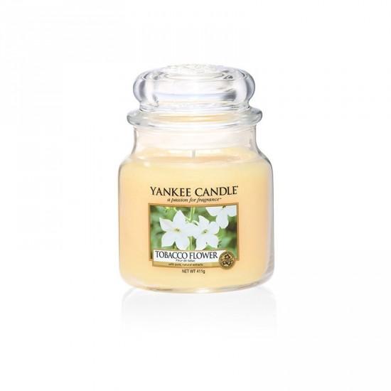 Średnia świeca Tobacco Flower Yankee Candle