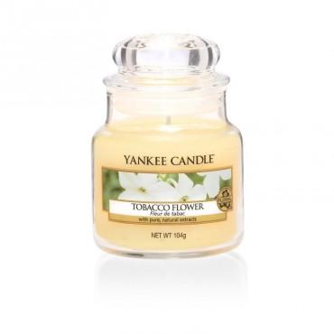 Mała świeca Tobacco Flower Yankee Candle