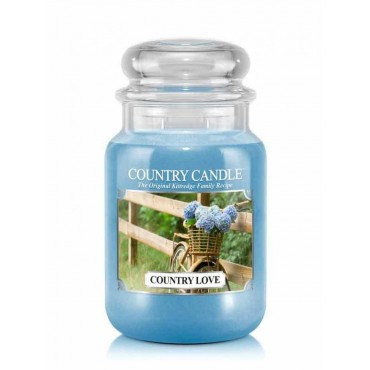 Duża świeca Country Love Country Candle