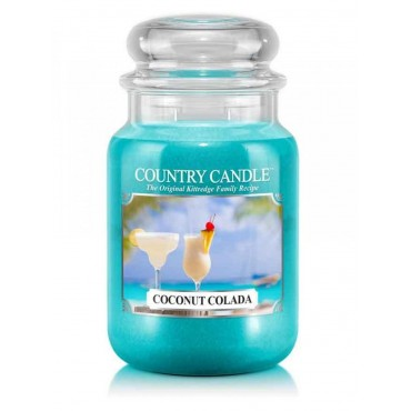 Duża świeca Coconut Colada Country Candle