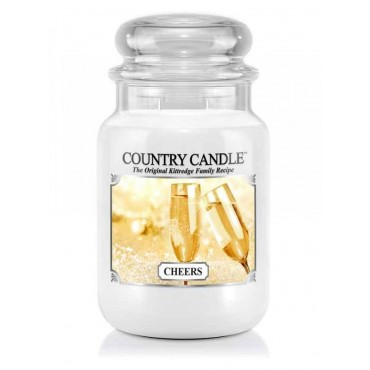 Duża świeca Cheers Country Candle