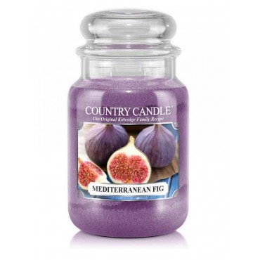 Duża świeca Mediterranean Fig Country Candle