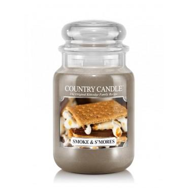 Duża świeca Smoke & S mores Country Candle