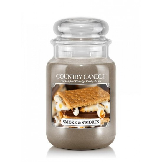 Duża świeca Smoke & S mores Country Candle