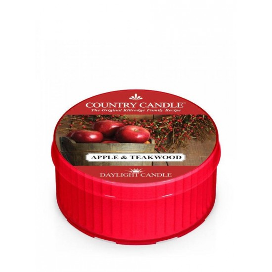 Daylight świeczka Apple & Teakwood Country Candle
