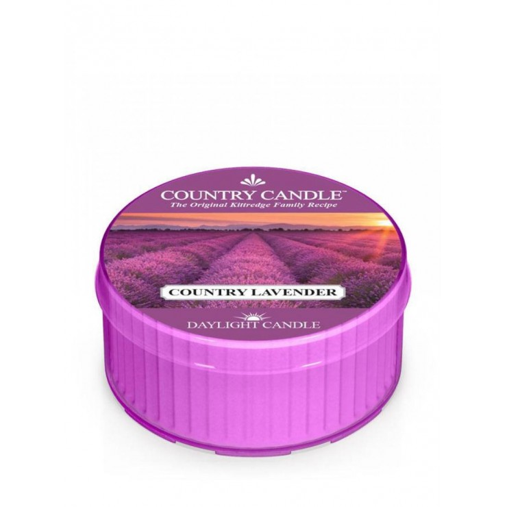Daylight świeczka Country Lavender Country Candle