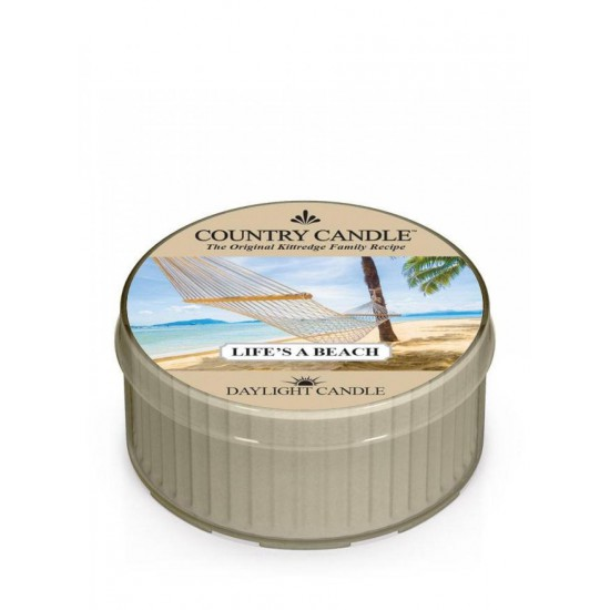 Daylight świeczka Life s A Beach Country Candle