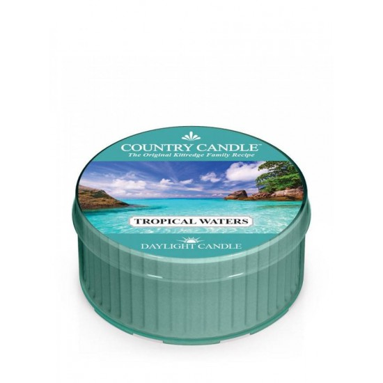 Daylight świeczka Tropical Waters Country Candle