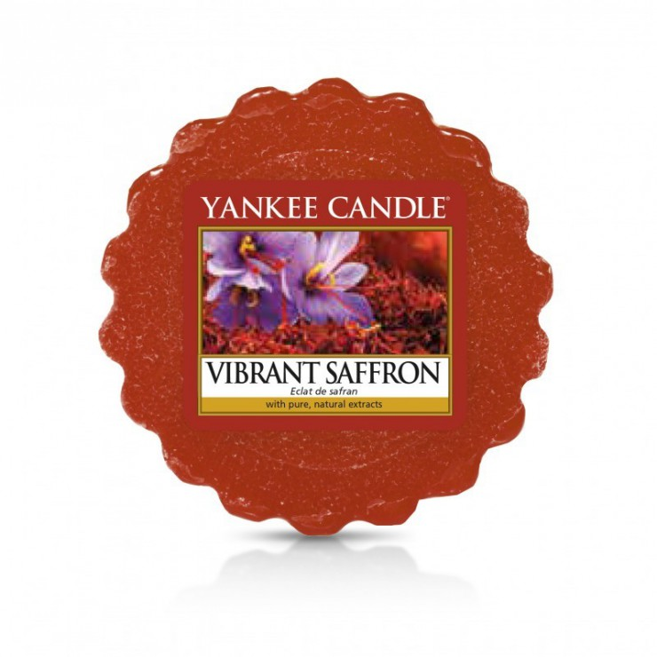 Wosk Vibrant Saffron Yankee Candle