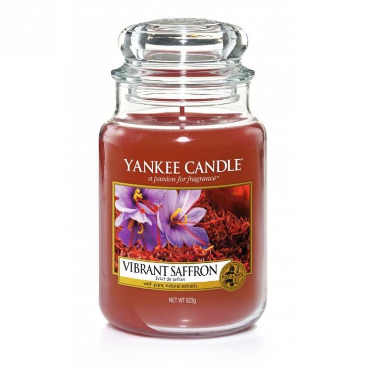Duża świeca Vibrant Saffron Yankee Candle