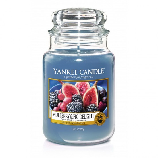 Duża świeca Mulberry & Fig Delight Yankee Candle