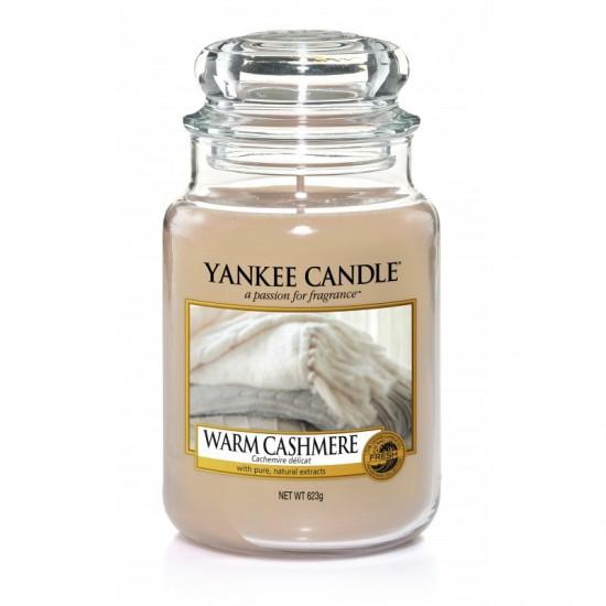 Duża świeca Warm Cashmere Yankee Candle