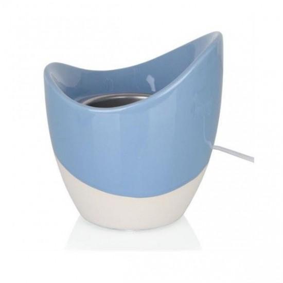 Scenterpiece Skye - kominek leketryczny do wosków niebieski