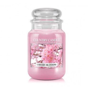Duża świeca Cherry Blossom Country Candle