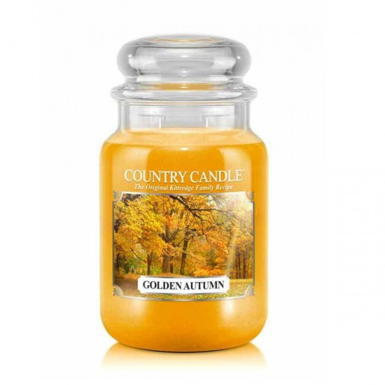 Duża świeca Golden Autumn Country Candle