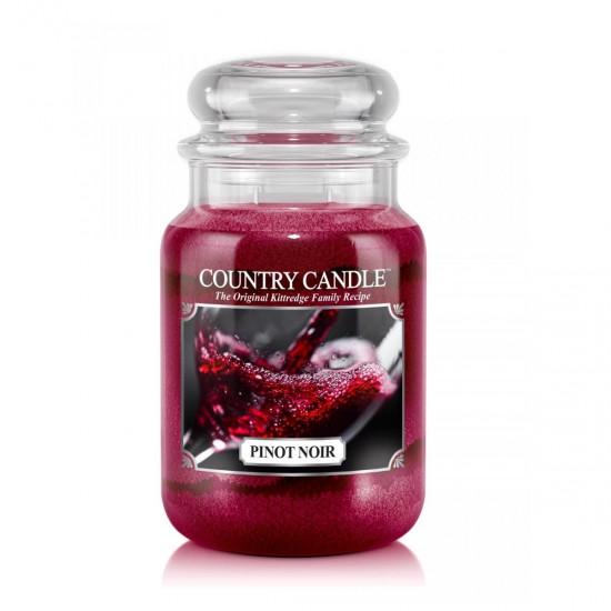 Duża świeca Pinot Noir Country Candle