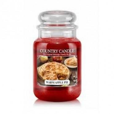 Duża świeca Warm Apple Pie Country Candle