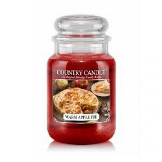 Duża świeca Warm Apple Pie Country Candle