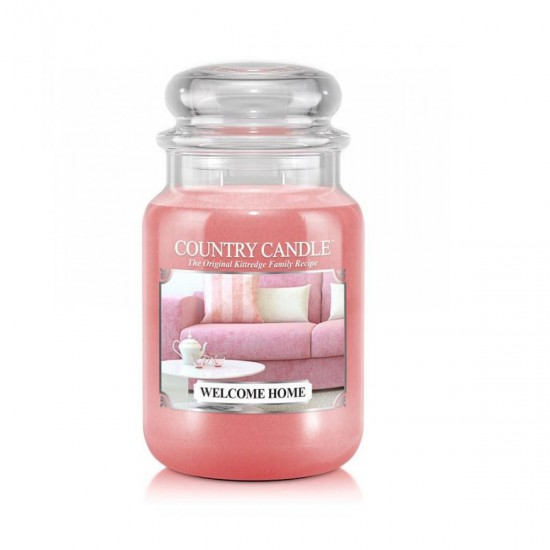 Duża świeca Welcome home Country Candle