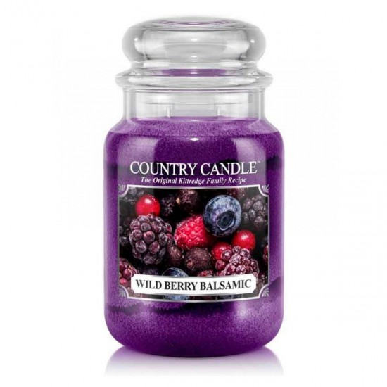 Duża świeca Wild Berry Balsamic Country Candle