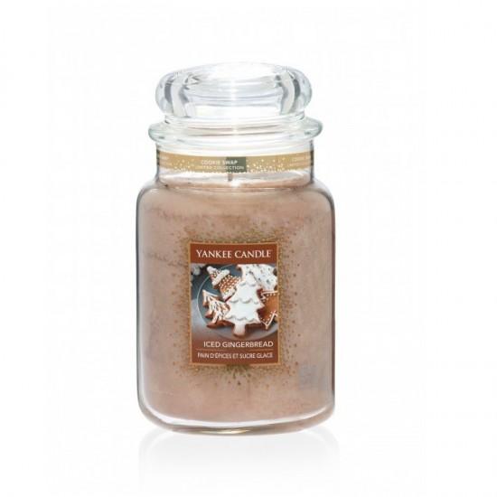 Duża świeca Iced Gingerbread Yankee Candle
