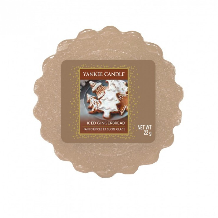 Wosk Iced Gingerbread Yankee Candle