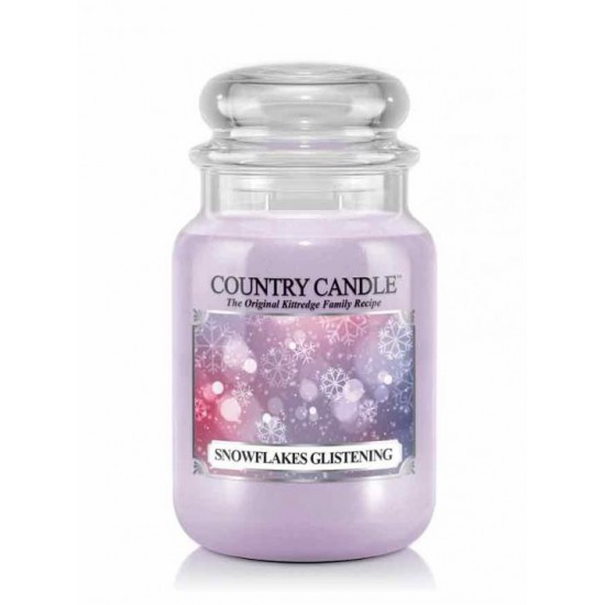 Duża świeca Snowflakes Glistening Country Candle