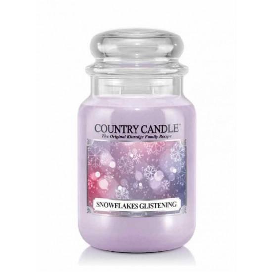 Duża świeca Snowflakes Glistening Country Candle