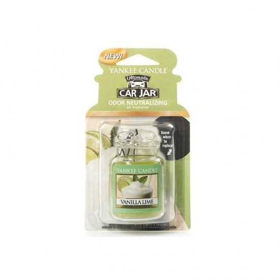 Car jar ultimate Vanilla Lime Yankee Candle