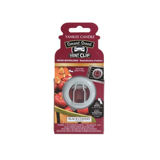 Car vent clip Black Cherry Yankee Candle