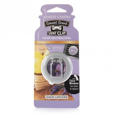Car vent clip Lemon Lavender Yankee Candle