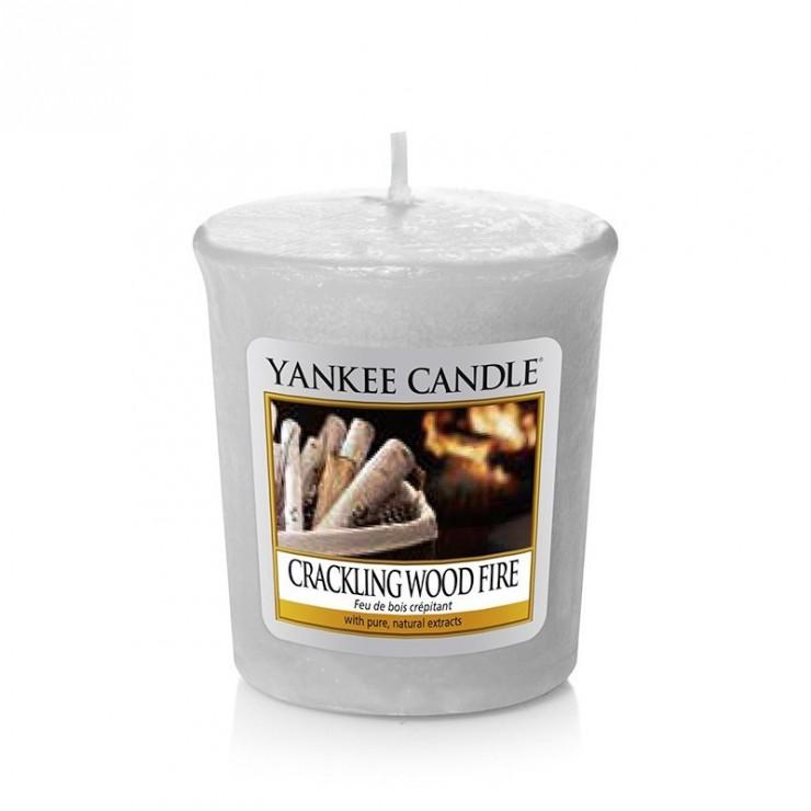 Sampler Crackling Wood Fire Yankee Candle
