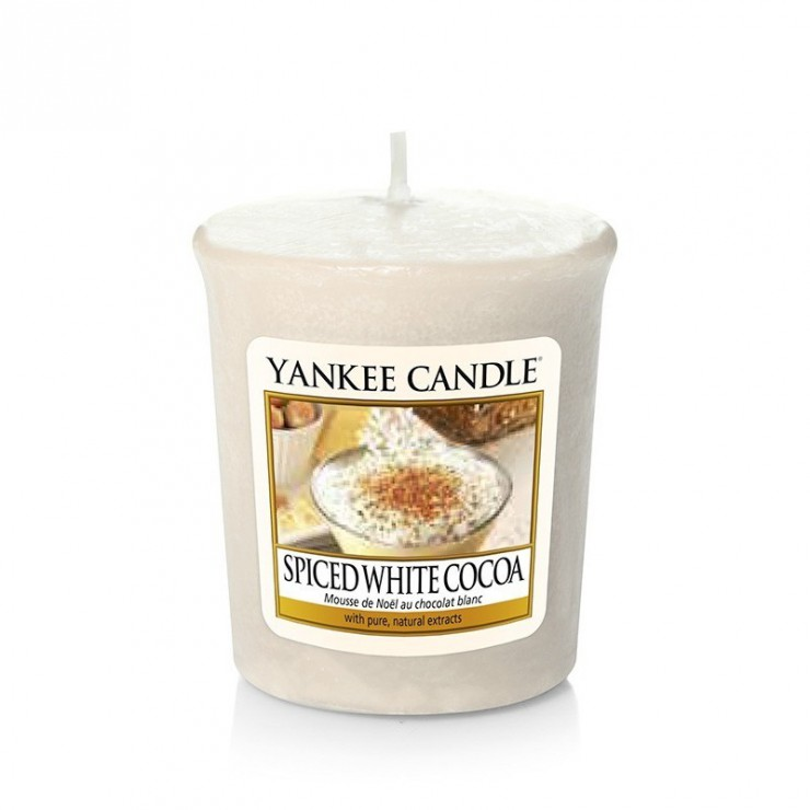 Sampler Spiced White Cocoa Yankee Candle