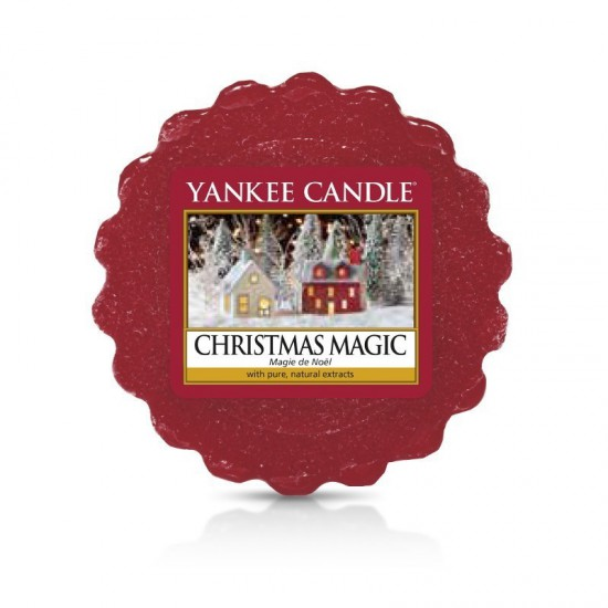 Wosk Christmas Magic Yankee Candle