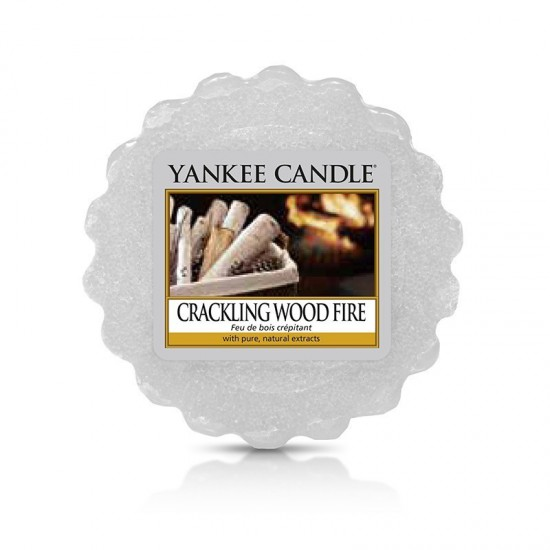 Wosk Crackling Wood Fire Yankee Candle