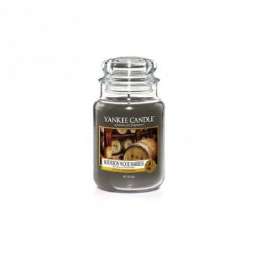 Duża świeca Bourbon Wood Barrels Yankee Candle